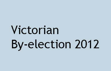 Victorian By-election 2012