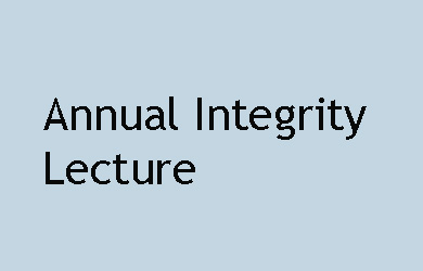 "Public Lecture ""Integrity in Politics: A Media Perspective"" Michelle Grattan"