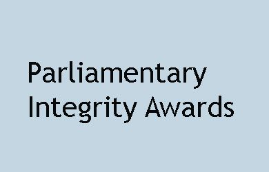 Parliamentary Integrity Awards 43rd Parliament 2013 Update and Response to changed circumstances