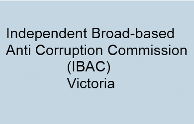 IBAC, Victoria's anti-corruption body, cannot investigate corruption in public office.